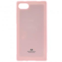 """Mercury"" futrālis - gaiši rozs (Xperia Z5 Compact)"