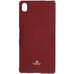 """Mercury"" apvalks - sarkans (Xperia Z5 Premium)"