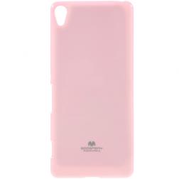 """Mercury"" apvalks - gaiši rozs (Xperia XA)"