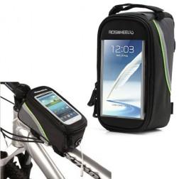 """""""Roswheel"""" - universāls telefona futrālis velosipēdam - melns (XL)"""