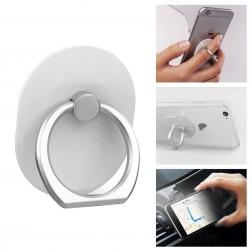 """""""Ring"""" telefona autoturētājs - balts"""