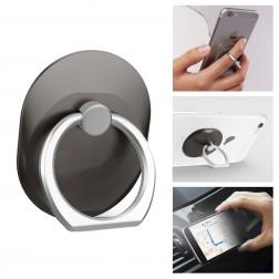 """""""Ring"""" telefona autoturētājs - melns"""