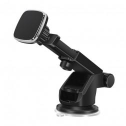 """""""Telescopic"""" magnet automašīnas telefona turētājs - melns"""