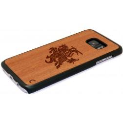 """""""Crafted Cover"""" dabīga koka apvalks - Vytis (Galaxy S7)"""