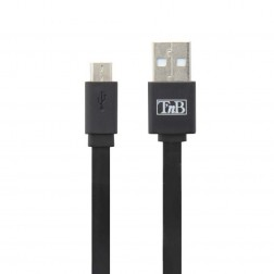 """T'nB"" micro USB vads - melns (0,30 m.)"
