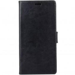 Atvēramais ādas maciņš - melns (Galaxy Xcover 4 / 4S)