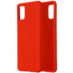 """Shell"" cieta silikona (TPU) apvalks - sarkans (Mi 10 Lite)"