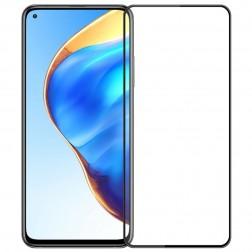 """""""Mofi"""" Tempered Glass ekrāna aizsargstikls 0.26 mm - melns (Mi 10T / 10T Pro)"""