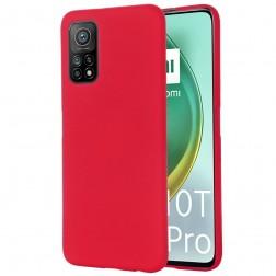 """""""Shell"""" cieta silikona (TPU) apvalks - sarkans (Mi 10T / 10T Pro)"""