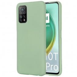 """""""Shell"""" cieta silikona (TPU) apvalks - zaļš (Mi 10T / 10T Pro)"""