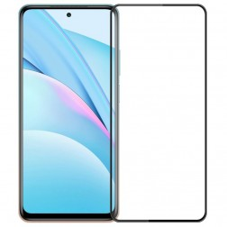 """Mofi"" Tempered Glass ekrāna aizsargstikls 0.26 mm - melns (Mi 10T Lite)"