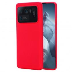 """""""Shell"""" cieta silikona (TPU) apvalks - sarkans (Mi 11 Ultra)"""