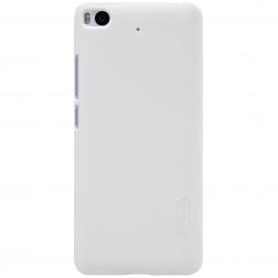 """Nillkin"" Frosted Shield apvalks - balts + ekrāna aizsargplēve (Mi 5S)"