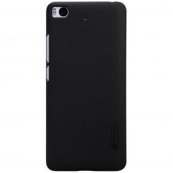 """Nillkin"" Frosted Shield apvalks - melns + ekrāna aizsargplēve (Mi 5S)"