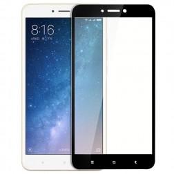 """""""Premium"""" Tempered Glass pilnīgi aizsedzams ekrāna aizsargstikls 0.2 mm - melns (Mi Max 2)"""