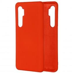 """Shell"" cieta silikona (TPU) apvalks - sarkans (Mi Note 10 Lite)"