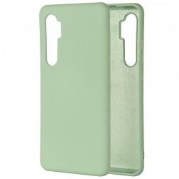 """Shell"" cieta silikona (TPU) apvalks - zaļš (Mi Note 10 Lite)"