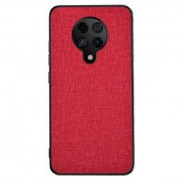 """""""Bi-Color"""" Splicing ādas apvalks - sarkans (Poco F2 Pro)"""
