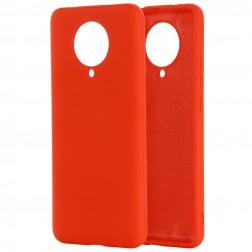 """Shell"" cieta silikona (TPU) apvalks - sarkans (Poco F2 Pro)"