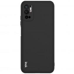"""""""Imak"""" cieta silikona (TPU) apvalks - melns (Poco M3 Pro / Redmi Note 10 5G)"""