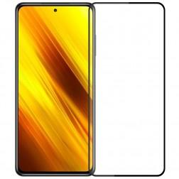 """Mofi"" Tempered Glass ekrāna aizsargstikls 0.26 mm - melns (Poco X3)"