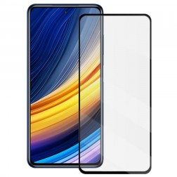 """Mocolo"" Tempered Glass ekrāna aizsargstikls 0.26 mm - melns (Poco X3 / X3 Pro)"