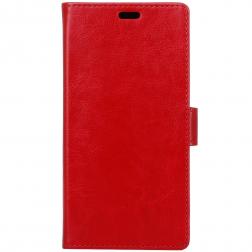 Atvēramais maciņš, grāmata - sarkans (Redmi 4X)