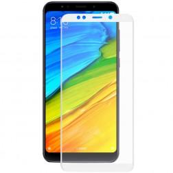"""Hat-Prince"" Tempered Glass ekrāna aizsargstikls 0.26 mm - balts (Redmi 5 Plus / Redmi 5 Note)"