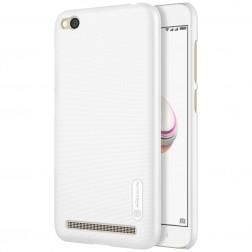 """Nillkin"" Frosted Shield apvalks - balts + ekrāna aizsargplēve (Redmi 5A)"