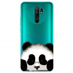 """""""Panda"""" cieta silikona (TPU) apvalks - dzidrs (Redmi 9)"""
