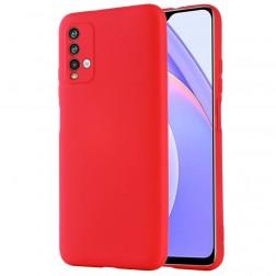 """""""Shell"""" cieta silikona (TPU) apvalks - sarkans (Redmi 9T 5G)"""
