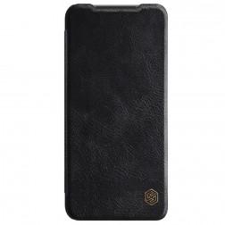 """""""Nillkin"""" Qin atvēramais maciņš - melns (Redmi Note 10S / Note 10 4G)"""