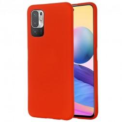 """Shell"" cieta silikona (TPU) apvalks - sarkans (Poco M3 Pro / Redmi Note 10 5G)"
