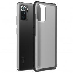 """""""Armor"""" apvalks - matēts apmales melnā krāsā (Redmi Note 10S / Note 10 4G)"""