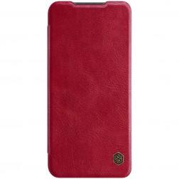 """""""Nillkin"""" Qin atvēramais maciņš - sarkans (Poco M3 Pro / Redmi Note 10 5G)"""