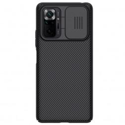 """Nillkin"" CamShield apvalks - melns (Redmi Note 10 Pro)"