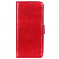 Atvēramais maciņš, grāmata - sarkans (Redmi Note 10 Pro)