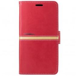 Atvēramais maciņš, grāmata - sarkans (Redmi Note 3 / Redmi Note 3 Pro)