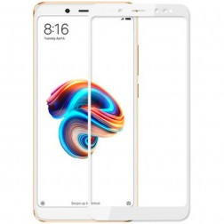 """Imak"" Tempered Glass ekrāna aizsargstikls 0.26 mm - balts (Redmi Note 5 2018)"