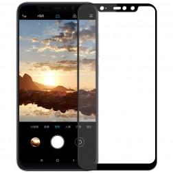 """Mofi"" Tempered Glass ekrāna aizsargstikls 0.26 mm - melns (Redmi Note 6 Pro)"