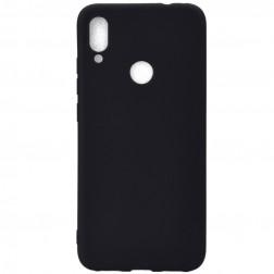 Planākais TPU apvalks - melns (Redmi Note 7)