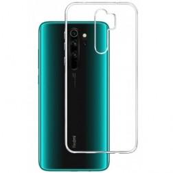 Cieta silikona (TPU) apvalks - dzidrs (Redmi Note 8 Pro)