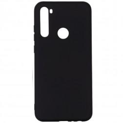 """Shell"" cieta silikona (TPU) apvalks - melns (Redmi Note 8T)"