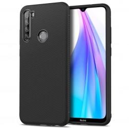 """Lenuo"" cieta silikona (TPU) apvalks - melns (Galaxy Note 8T)"