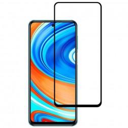 """Mocolo"" Tempered Glass ekrāna aizsargstikls 0.26 mm - melns (Redmi Note 9s / Note 9 Pro)"