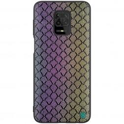 """""""Nillkin"""" Twinkle apvalks - melns, krāsains (Redmi Note 9 Pro)"""