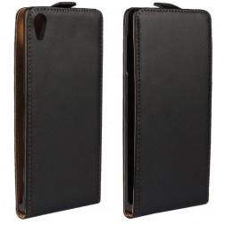 Klasisks atvēramais futrālis - melns (Xperia Z5 Premium)