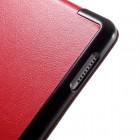 """Apple iPad Pro 12,9"""" 2017 atvēramais sarkans maciņš"""