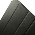 Apple iPad 2 / 3 / 4 klasisks atvēramais melns futrālis