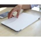 """Apple iPad Air 2 plāns atvēramais """"Rock"""" Uni balts maciņš"""